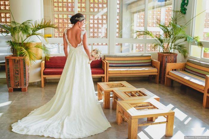 ¡Califica el vestido de la novia! 1
