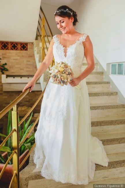 ¡Califica el vestido de la novia! 2