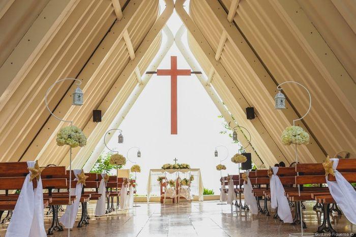 ¡Califica la iglesia de este matrimonio! 1