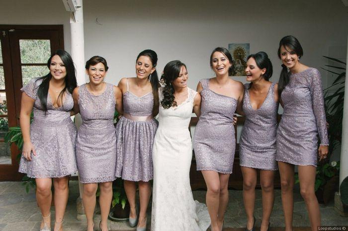 ¿A cuál de estas damas de honor le das tu corazón? 1