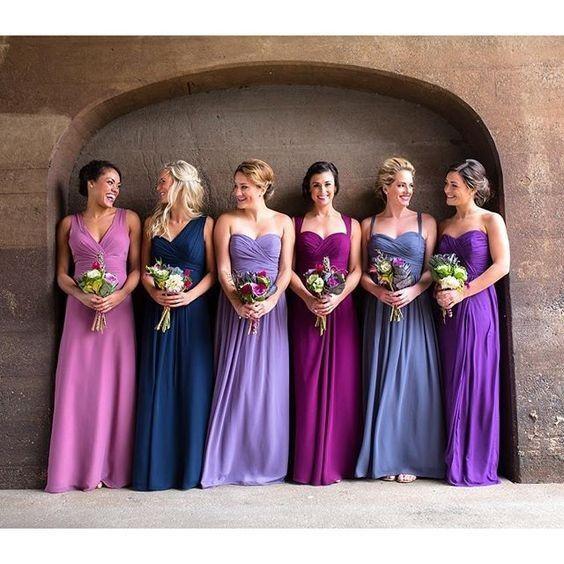 ¡Viste a tus damas de honor para el matrimonio! 1