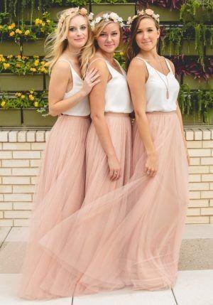 ¡Viste a tus damas de honor para el matrimonio! 3