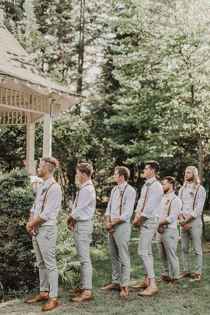 ¡Viste a tus caballeros de honor para el matrimonio! 1