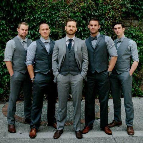 ¡Viste a tus caballeros de honor para el matrimonio! 2