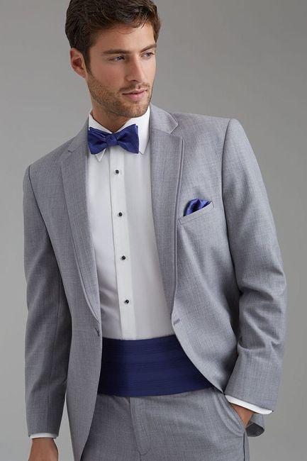 5 Trajes de novio en color GRIS: ¿Cuál preferís? 1