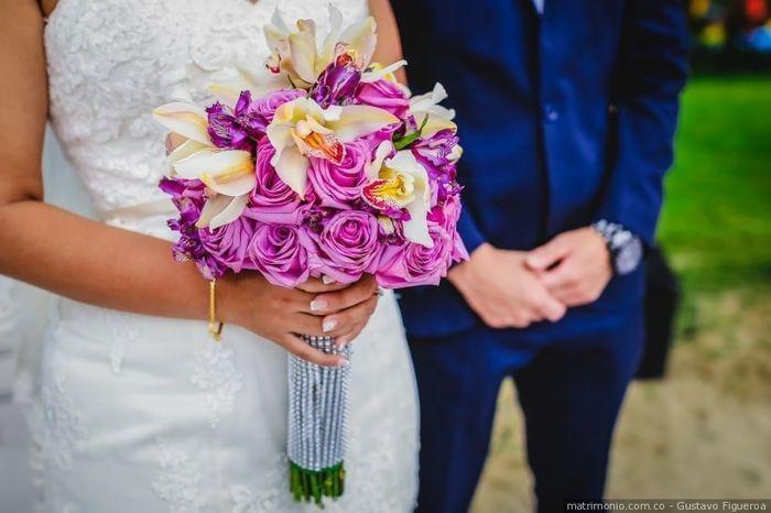 ¿Cuál de estos ramos de novia te convence más? 2