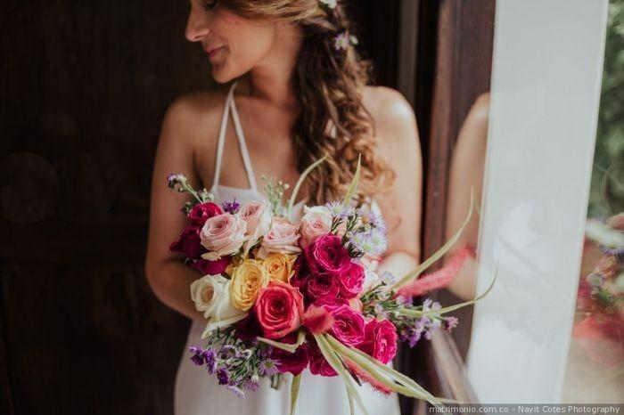 ¿Cuál de estos ramos de novia te convence más? 4