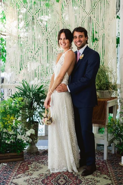 Decoración con macramé para una boda Boho 🍂 3