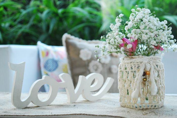 Decoración con macramé para una boda Boho 🍂 5