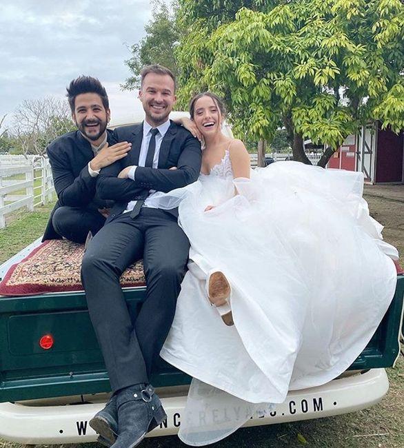 ¡El Casamiento de la hija de Ricardo Montaner con el cantante de 'Tutu'! 5