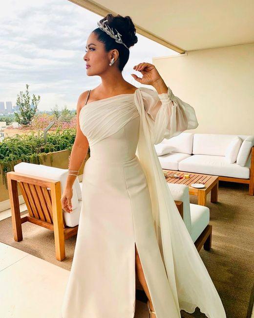 ¡Los vestidos de novia que más triunfaron en los Oscars 2020! 😍 3