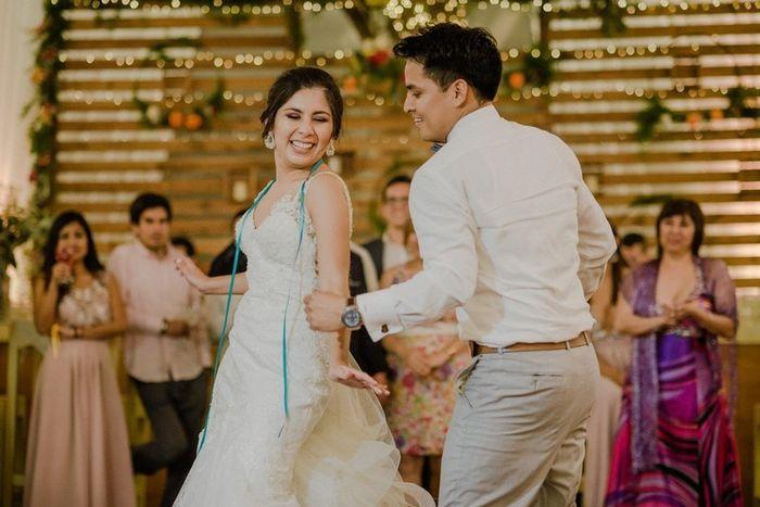 La canción perfecta para el primer baile es... 3
