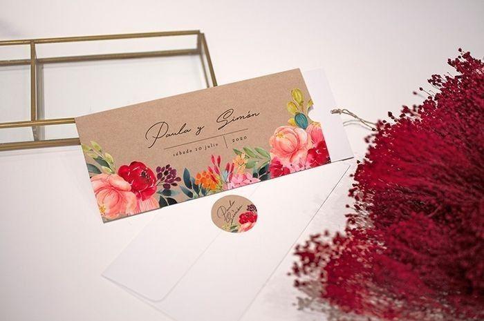 TOP 5: ¡Invitaciones de matrimonio! 2