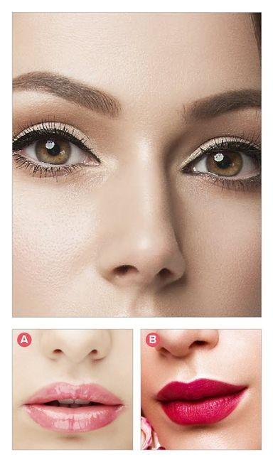 ¿Qué labial le pones a este maquillaje de ojos? 1