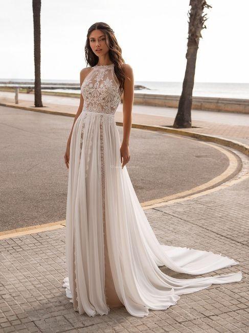 Vestidos 2021 para matrimonios íntimos 👰 1