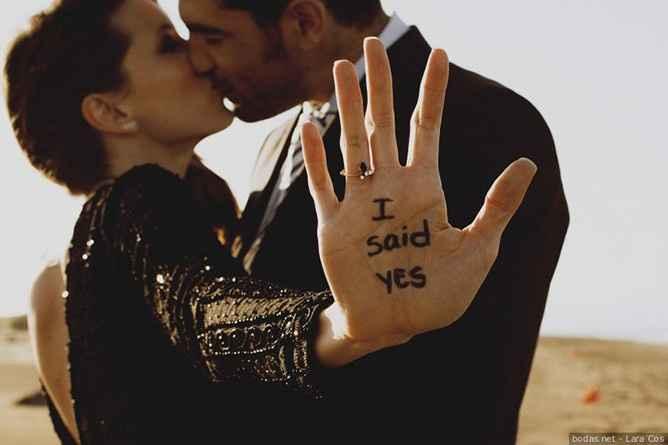 ¿En qué fecha te propusieron matrimonio? 1