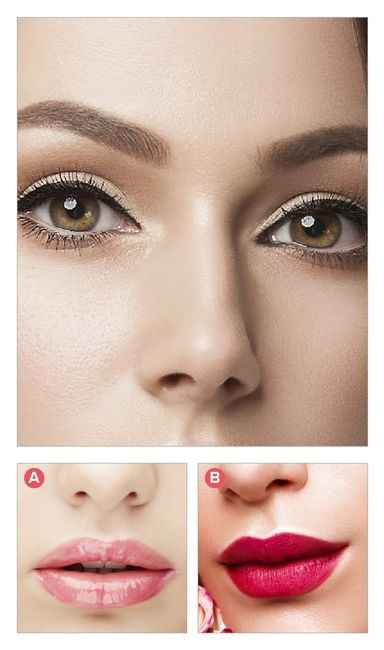 ¿Qué labial le pones a este maquillaje de ojos? - 1