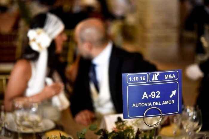 ¿Qué nombre poner a las mesas? - 1