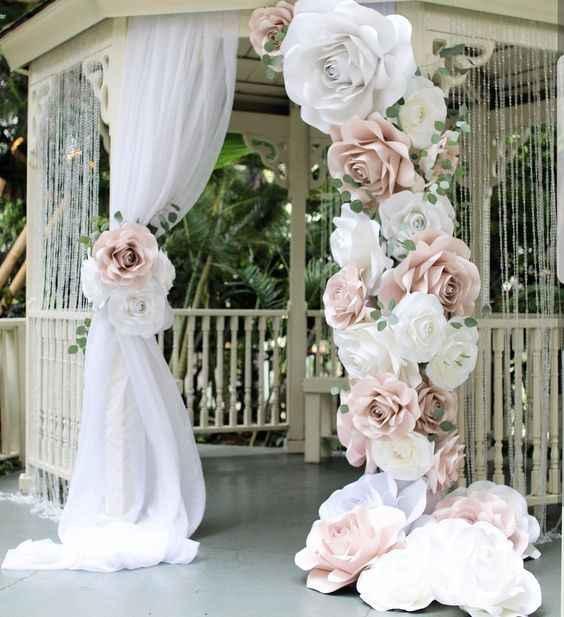 "5 Ideas para decorar tu matrimonio con los ""Moldes Florales"" de Matrimonio.com.co - 2"