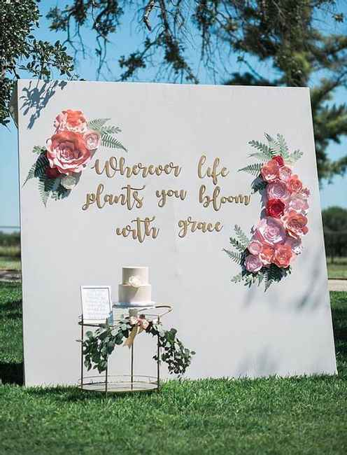"5 Ideas para decorar tu matrimonio con los ""Moldes Florales"" de Matrimonio.com.co - 4"