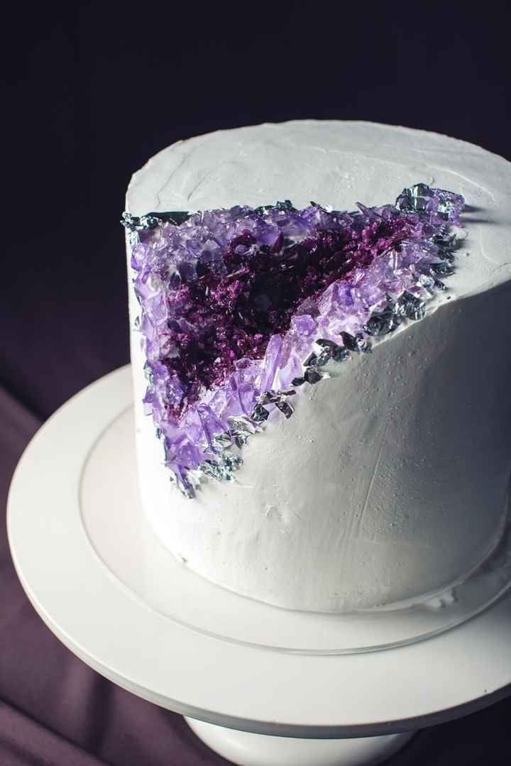 4 tortas inspiradas en piedras preciosas 💎 - 1