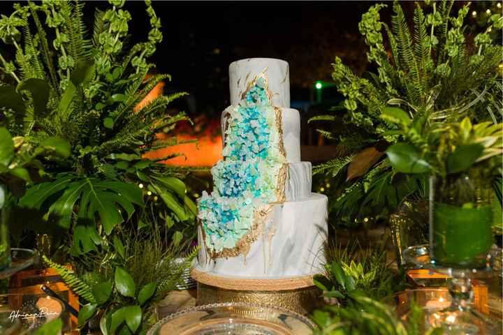4 tortas inspiradas en piedras preciosas 💎 - 2