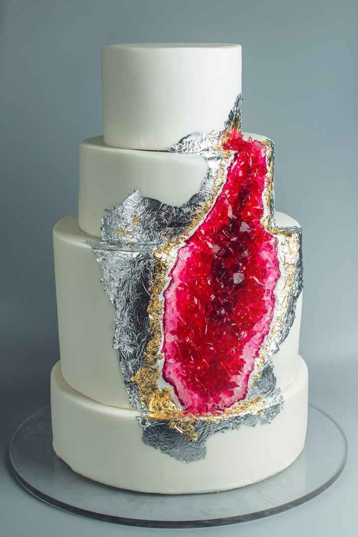 4 tortas inspiradas en piedras preciosas 💎 - 3
