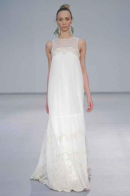5 vestidos para novias EMBARAZADAS. ¡Deja tu ❤️ en uno! - 1