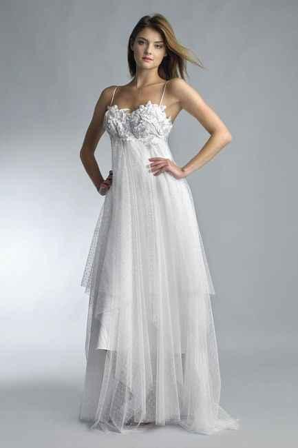 5 vestidos para novias EMBARAZADAS. ¡Deja tu ❤️ en uno! - 2