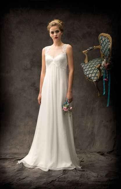 5 vestidos para novias EMBARAZADAS. ¡Deja tu ❤️ en uno! - 3
