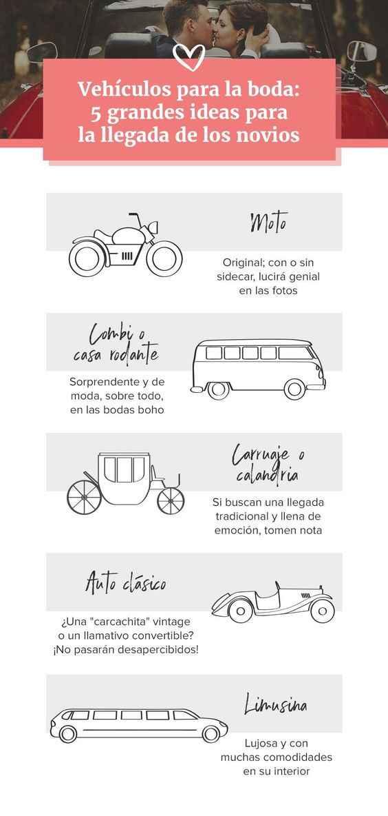 ¿En qué tipo de carro quieres llegar? - 1