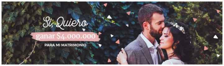 ¿Qué harías si te ganaras los $4.000.000 del sorteo de Matrimonio.com.co? - 1