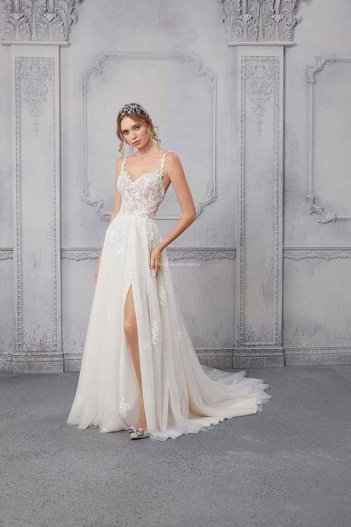 3 vestidos de novia con abertura: ¡VOTA1 - 2