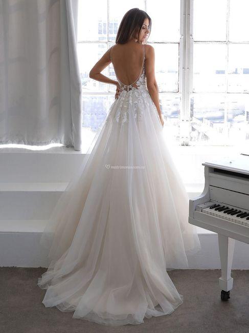 7 Vestidos de novia LARGOS: ¿Con cuál te quedas? 2