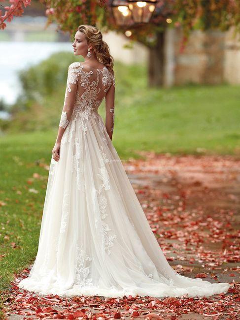 7 Vestidos de novia LARGOS: ¿Con cuál te quedas? 5