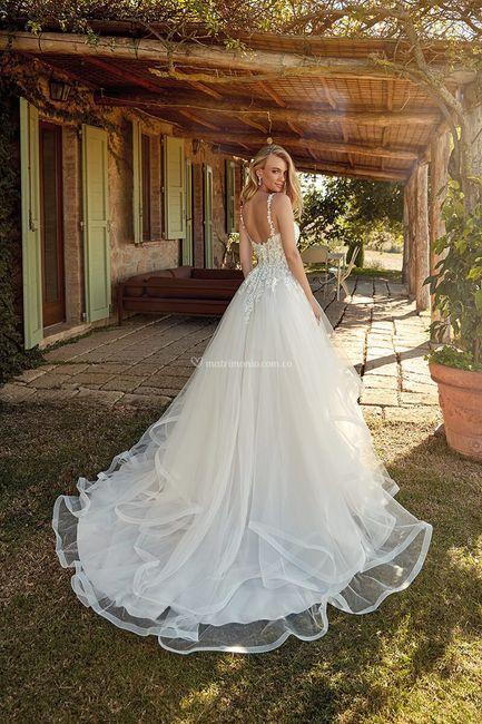 7 Vestidos de novia LARGOS: ¿Con cuál te quedas? 7