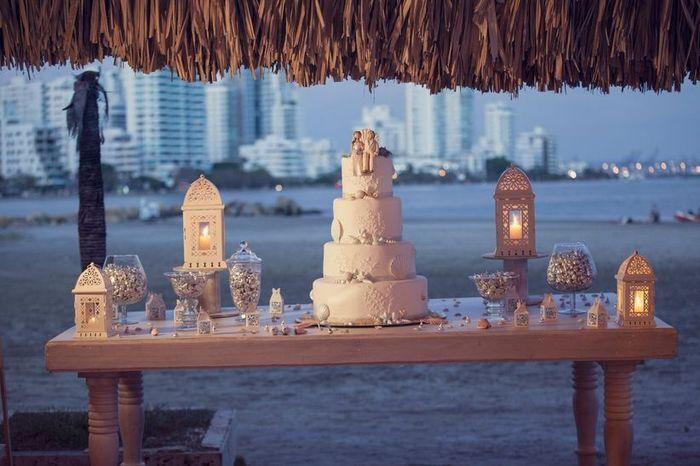 La torta con varios pisos: ¿Copado o Aburrido? 1
