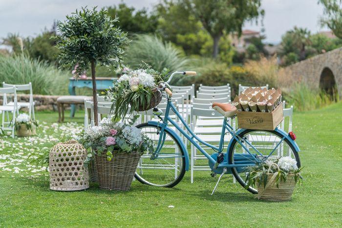 Decoración con bicicletas, ¿Sí o No? 1