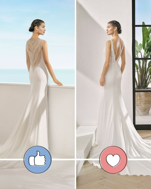 Vestido sereia e costas em V: 👍 ou ❤️? 1