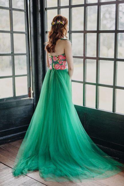 Vestido de novia a color: ¿Si, No o Tal vez? 1