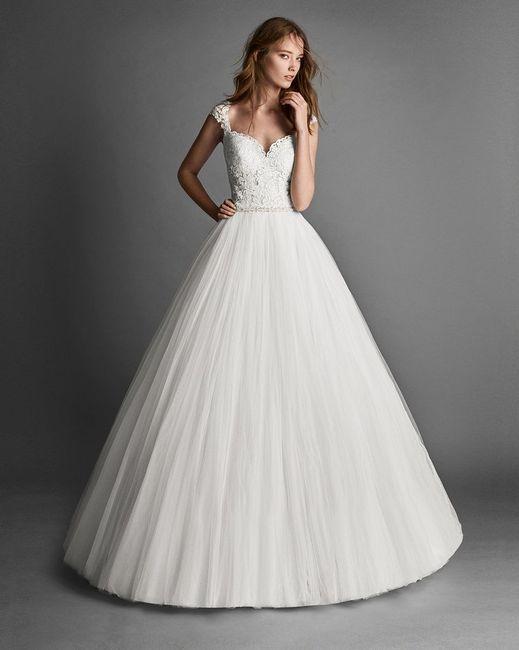 ¿Vestido princesa o Sirena? 1