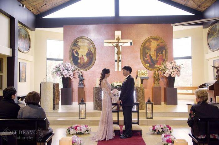 ¿Cómo vas con la organización de tu boda religiosa? 1