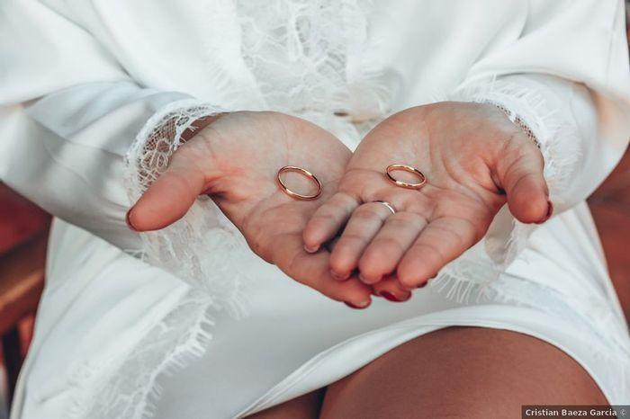 ¿De qué material van a ser sus anillos? 1