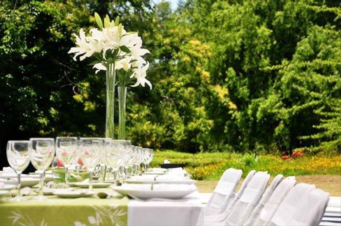 5 Centros de mesa florales, ALTOS y con mucho estilo🌷 1