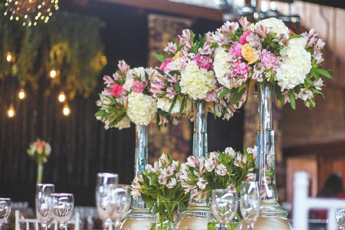 5 Centros de mesa florales, ALTOS y con mucho estilo🌷 3