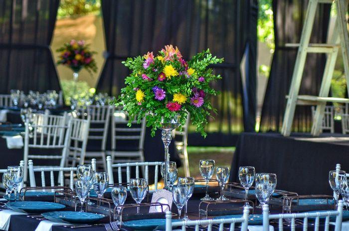5 Centros de mesa florales, ALTOS y con mucho estilo🌷 4
