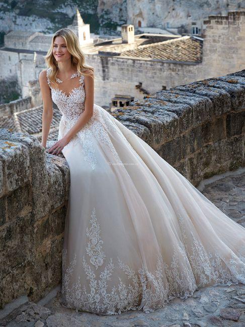 ¿Crepé, Seda u Organza para tu vestido de novia? 1