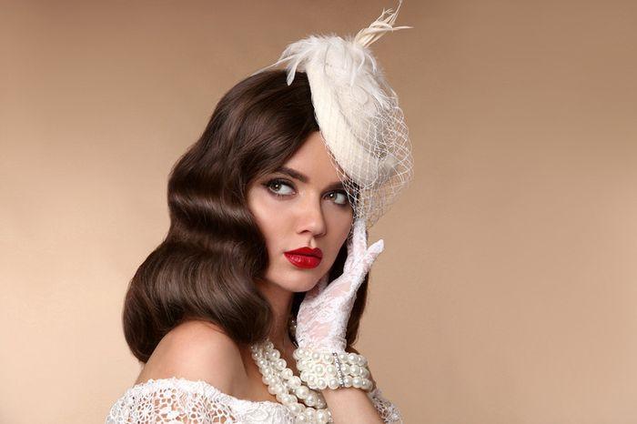 5 peinados de novia VINTAGE: ¿Cuál te hacés? 5