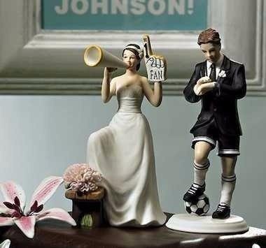 ¿Tendrías un Cake Topper futbolero? 1