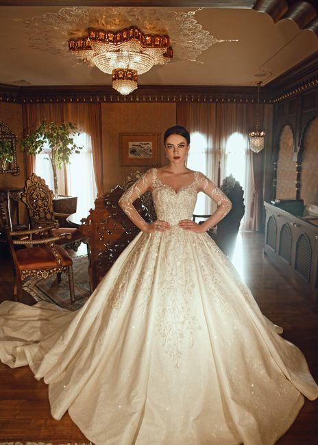 ¿Sueñas con un vestido de novia así? 1